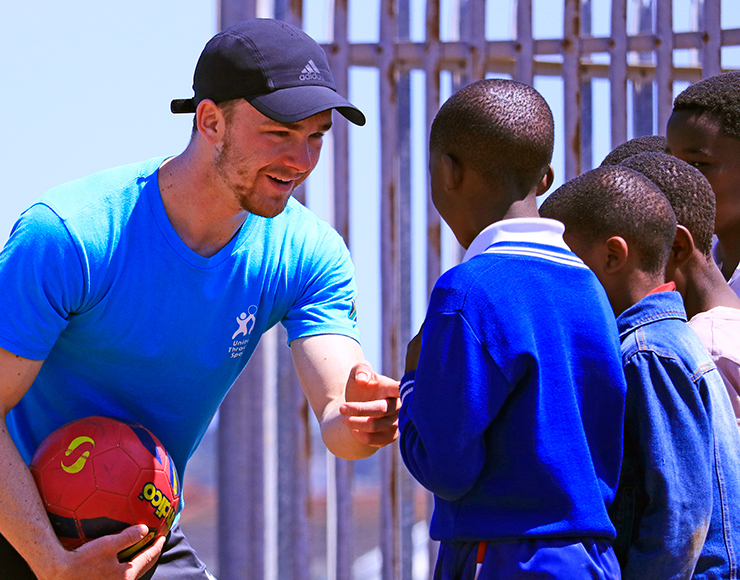 South Africa Football Volunteer